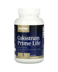 Colostrum Prime Life 400 мг 120 веге капсули | Jarrow Formulas
