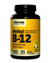 Methyl B12 Methylcobalamin 1000 мкг 100 таблетки Jarrow Formulas