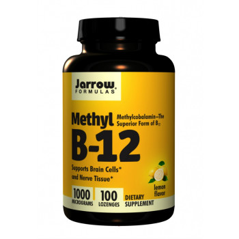 Methyl B12 Methylcobalamin 1000 mcg 100 Lozenges Jarrow Formulas