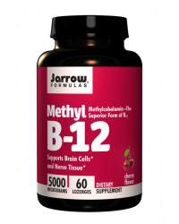 Methyl B12 Methylcobalamin 5000 mcg 60 таблетки Jarrow Formulas
