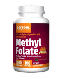 Methyl Folate 1000 mcg 100 capsules Jarrow Formulas