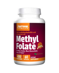 Methyl Folate 400 мкг 60 капсули | Jarrow Formulas