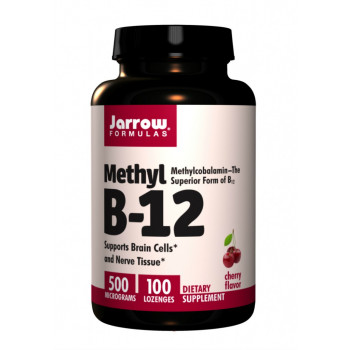 Methylcobalamin Methyl B12 500 mcg 100 lozenges Jarrow Formulas