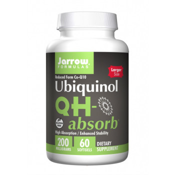 QH-Absorb 200 мг 30/60 гел капсули | Jarrow Formulas