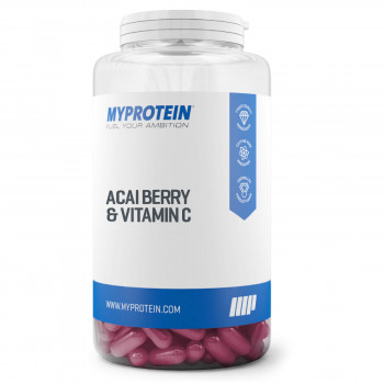 Acai Berry Plus Vitamin C 30 капсули Myprotein