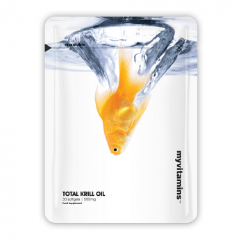Total Krill Oil 500 мг 30 гел-капсули I Myvitamins