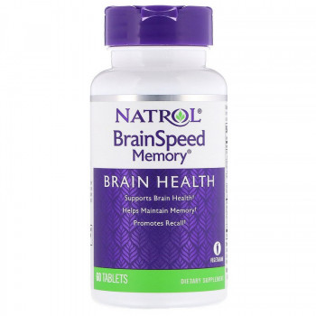 BrainSpeed Memory 60 таблетки | Natrol