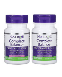 Complete Balance Menopause Relief AM&PM Formula 60 капсули | Natrol
