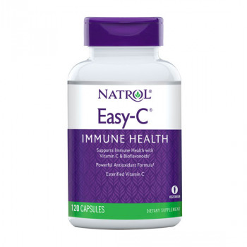 Easy-C 500mg+Citrus Bioflavonoids 120 капсули Natrol