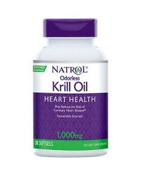 Omega-3 Krill Oil 1000 мг 30 гел-капсули | Natrol