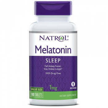 Melatonin 1 мг 90/180 таблетки | Natrol