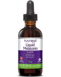 Melatonin Liquid 1 мг 60 мл | Natrol