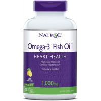 Omega-3 Fish Oil 1000 мг гел-капсули | Natrol