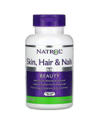 Skin Hair Nails + Collagen 60 капсули | Natrol
