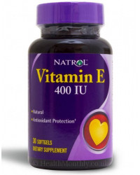 Vitamin E 400IU 30 softgels I Natrol
