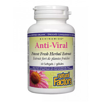 Anti-Viral 60 гел-капсули   Natural Factors