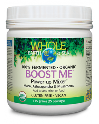 Boost Me Power-Up Mixer Whole Earth & Sea 175 гр | Natural Factors