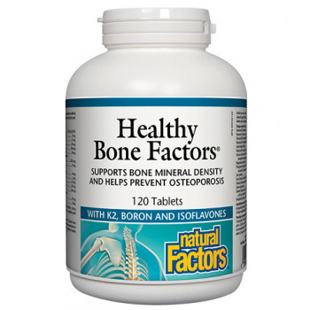 Healthy Bone Factors 624 мг 120 таблетки | Natural Factors