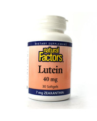 Lutein 40 mg 30 softgels | Natural Factors
