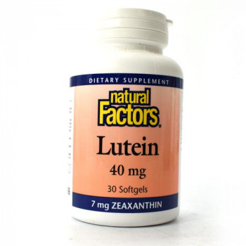 Lutein 40 мг 30 гел-капсули | Natural Factors