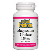 Magnesium Chelate 125 мг 90 капсули   Natural Factors