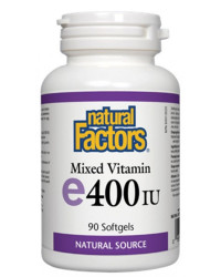 Mixed Vitamin E 400 IU 90 гел-капсули | Natural Factors