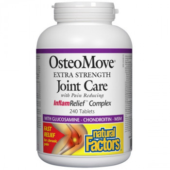 OsteoMove Extra Strength Joint Care 1431 мг 60/120/240 таблетки   Natural Factors
