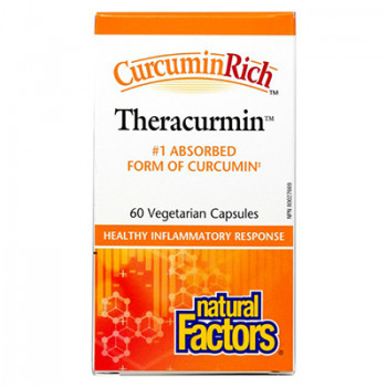 Теракурмин 30 mg (Theracurmin) 60 capsules Natural Factors