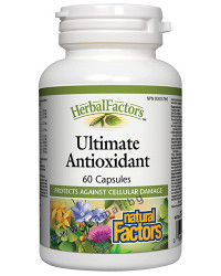 Ultimate Antioxidant 336 mg 60 capsules | Natural Factors