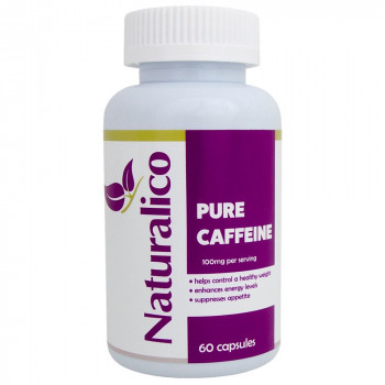 Pure Caffeine 50 мг 60 капсули I Naturalico
