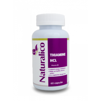 Thiamine HCL 60 капсули I Naturalico