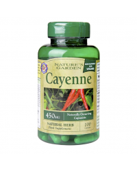 Cayenne 450 мг 100 капсули | Nature's Garden
