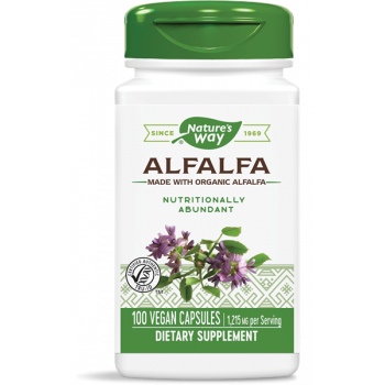Alfalfa (Young Harvest) 405 мг 100 капсули | Nature`s Way