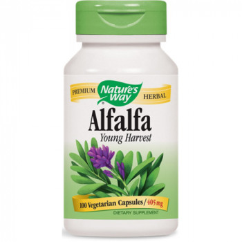 Alfalfa (Young Harvest) 405 mg 100 capsules | Nature`s Way