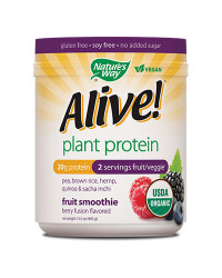 Alive Organic Plant Protein 440 гр Nature`s Way