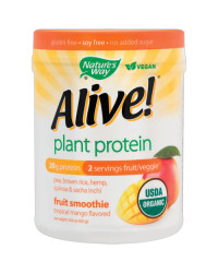 Alive Plant Protein Tropical Mango 420 gr Nature`s Way