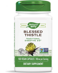 Blessed Thistle 390 мг 100 веган капсули | Nature's Way