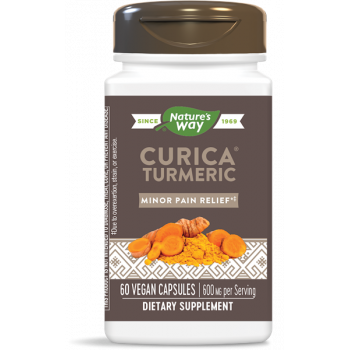 Curica Turmeric 300 мг 60 капсули I Nature`s Way