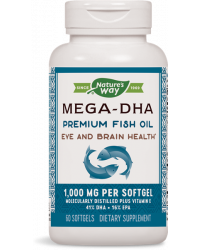Mega-DHA 1000 мг 60 гел-капсули I Nature's Way