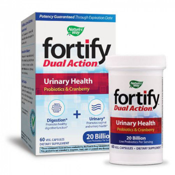 Fortify™Dual Action Уринарно здраве 60 капсули | Nature`s Way