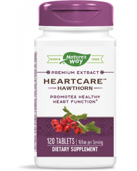 HeartCare™ Standardized Hawthorn 80 мг 120 таблетки | Nature`s Way