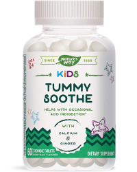 Kids Tummy Soothe за деца 60 дъвчащи таблетки | Nature's Way