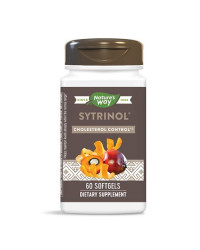 Sytrinol Cholesterol Control 60 гел-капсули | Nature's Way