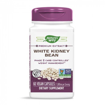White Kidney Bean 1000 мг 60 веган капсули | Nature's Way