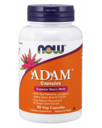 ADAM Male Multi 90 веге капсули | Now Foods