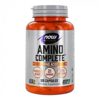 Amino Complete 850 мг 120 капсули | Now Foods