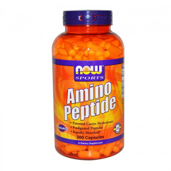 Amino Peptide 400 мг 300 капсули | Now Foods