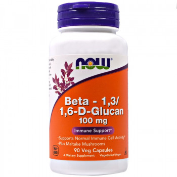 Beta 1,3/1,6 Glucan 60 vcaps I Now Foods