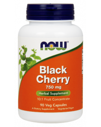 Black Cherry Extract 750 мг 90 веге капсули | Now Foods