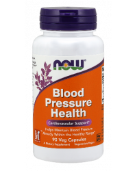 Blood Pressure Health 90 капсули | Now Foods